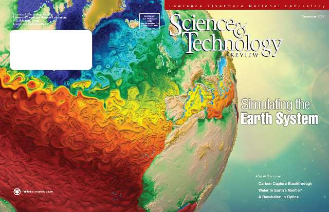 Evolution of atmosphere and climate models, appearing in Science & Technology Review.