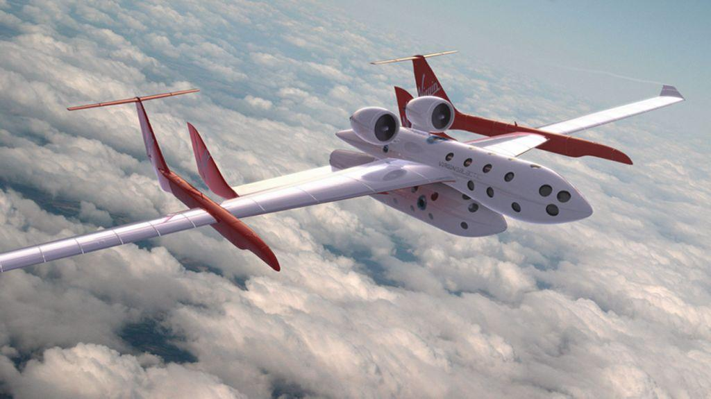 Early concepts of SpaceShipTwo and WhiteKnightTwo